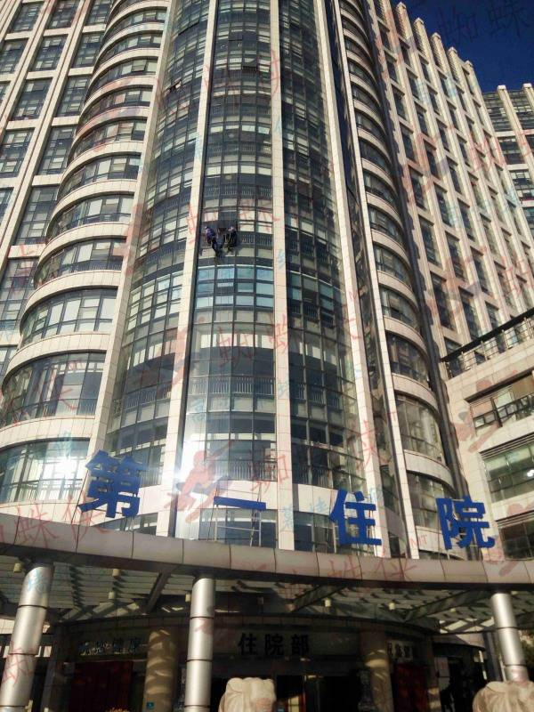 芜湖二院幕墙玻璃常年维保
